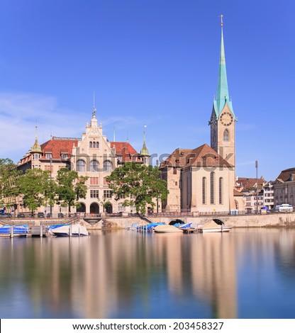 Zurich City Hall And The City Hall Zurich