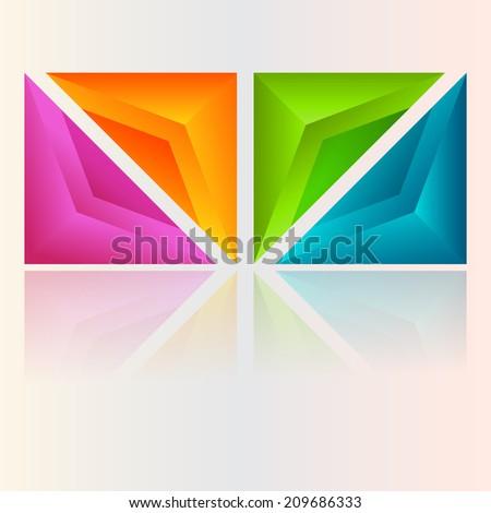 Abstract colorful design Abstract colorful design  - stock vector