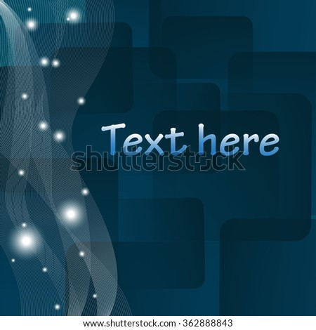 blue background ,abstract,design - stock vector
