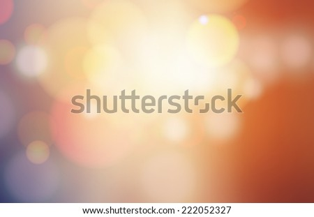 Color Abstract Blurred backgrounds  - stock vector