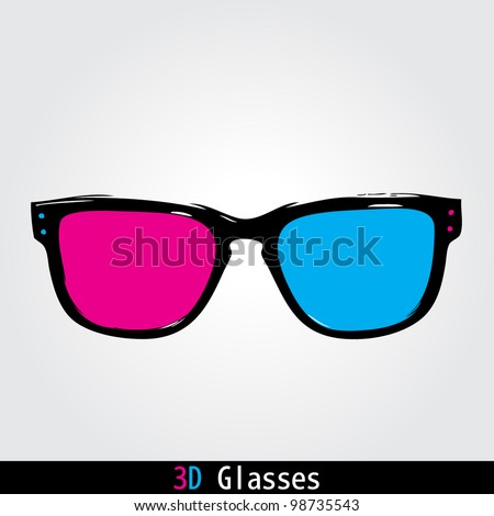 3d Cinema Glasses Stock Photos, Images, & Pictures ...