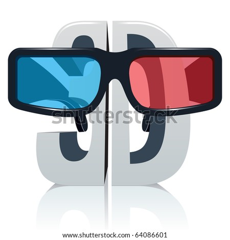 3d Glasses Stock Vectors & Vector Clip Art | Shutterstock