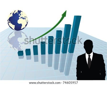 3d vector graphic - stock vector