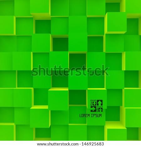 3D vector illustration. - stock vector