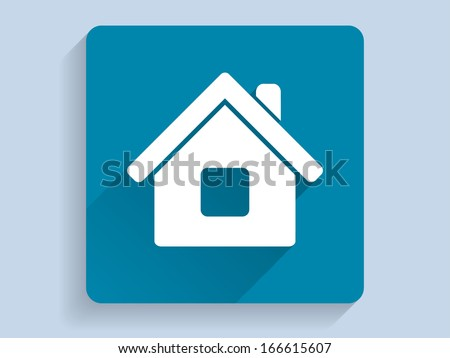 3d Vector illustration of houme icon  - stock vector