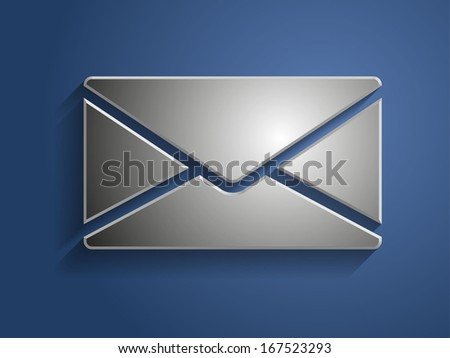 3d Vector illustration of letter icon - stock vector
