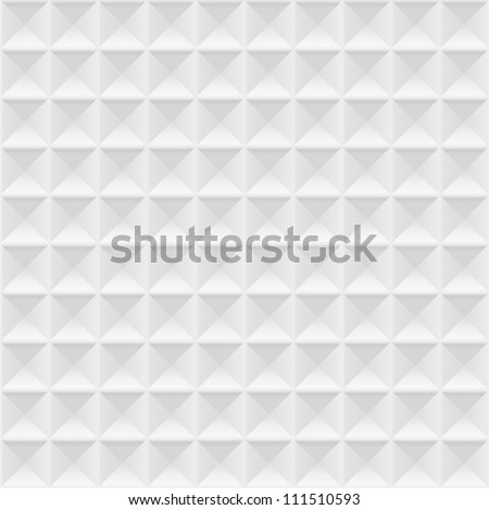 3d white texture,geometric seamless. Vector - stock vector