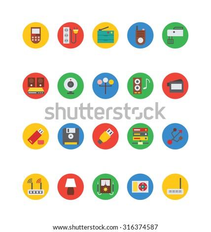 Electronics Vector Icons 7  - stock vector
