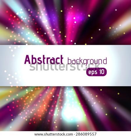 Festive elegant abstract Christmas background  - stock vector