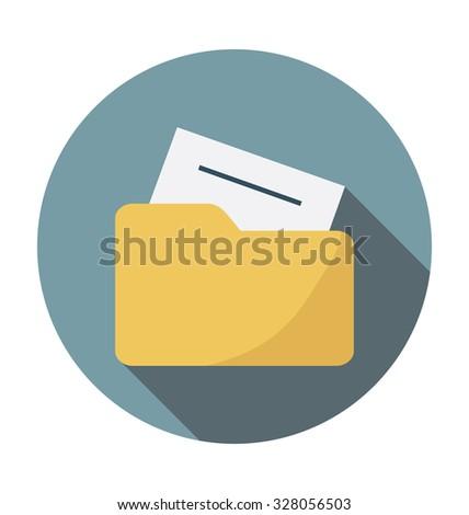 File Folder   - stock vector