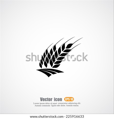 harvest vector icon - stock vector