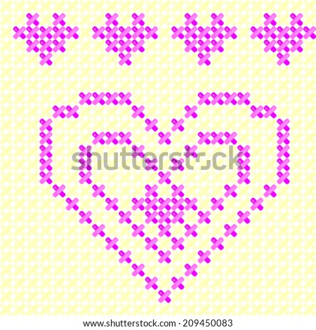 Knitting Stitches Vector : Knit Stitches Stock Photos, Images, & Pictures Shutterstock