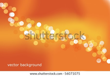 lights background - stock vector