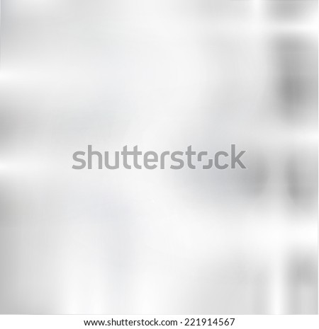 Metal Plate with Reflections and Highlights.  Vector Illustration .  - stock vector