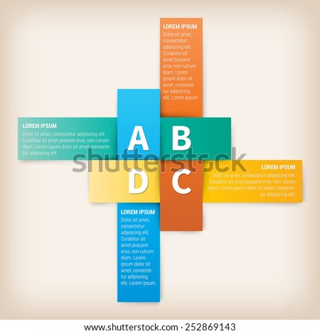 Modern Design template for website or print - stock vector