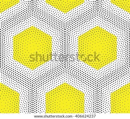 Original simple texture with regularly repeating geometrical shapes, dots, rhombuses. Vector seamless pattern. Modern stylish texture. Repeating geometric tiles with dotted rhombuses - stock vector