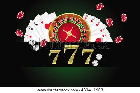 ?Poker design, cards and chips , casino games. - stock vector