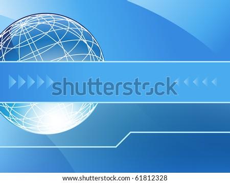 Presentation Background - stock vector