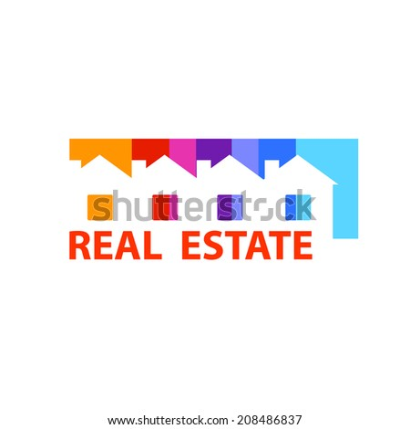 Real estate - sale, lease. Vector design concept.  - stock vector