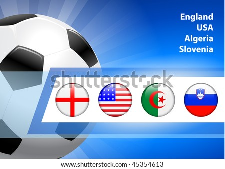 2010 Soccer/Football C  Original Vector Illustration AI8 Compatible - stock vector
