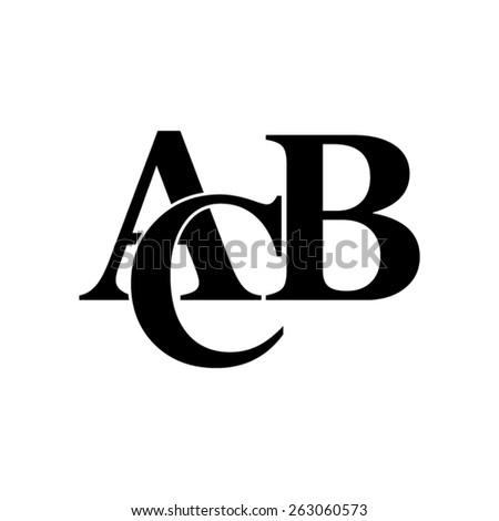 symbols heap of alphabet  - vector icon - stock vector