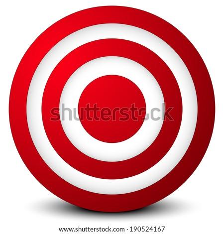 """ Target , aim, success , goal "" graphic  - stock vector"