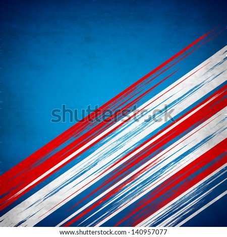 4th of July, American Independence Day background - stock vector