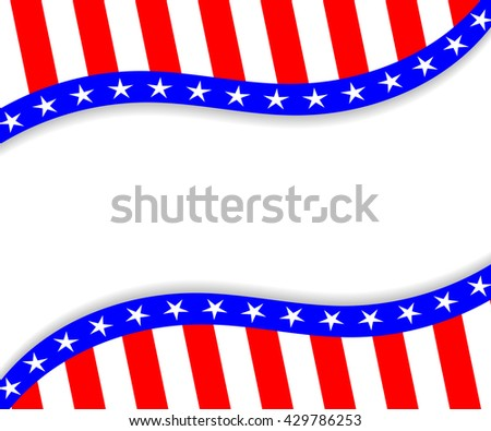 4th of July vector background. Template for 4th of July. 4th of July design. 4th of July poster. 4th of July banner. USA Independence Day vector illustration. 4th of July vector illustration. - stock vector