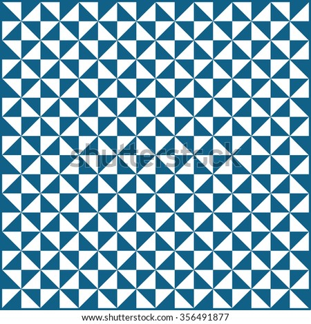Triangle pattern, background, texture  , vector illustration. Flat design style - stock vector