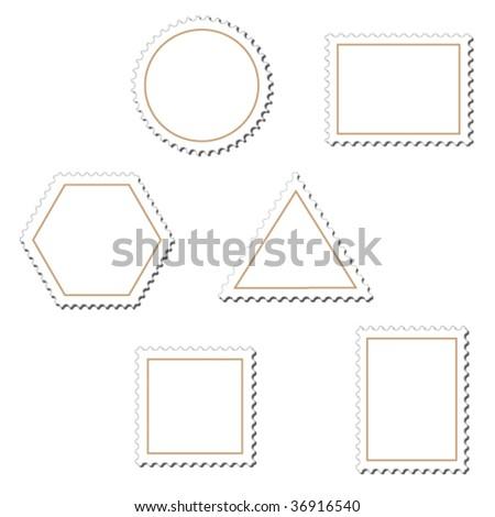 Vector stamps - more in my portfolio - stock vector
