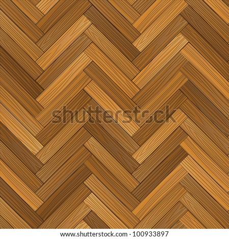 Vector wood parquet floor. Vector eps10 - stock vector