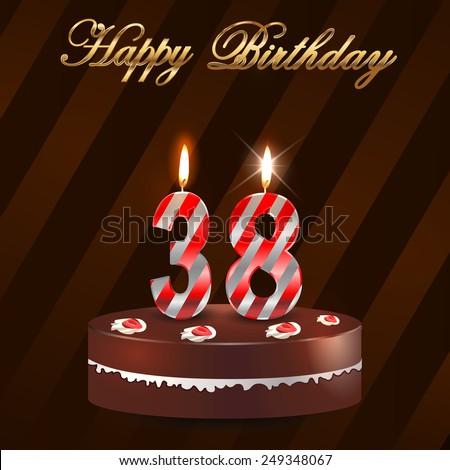 Поздравление с 38 лет