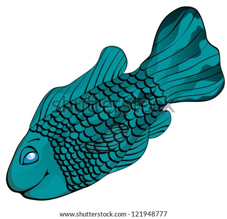 Paul heaberlin 39 s portfolio on shutterstock for Fish with scales and fins