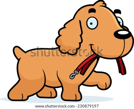 cocker spaniel cartoon cartoon cocker spaniel puppy stock photos images 9885