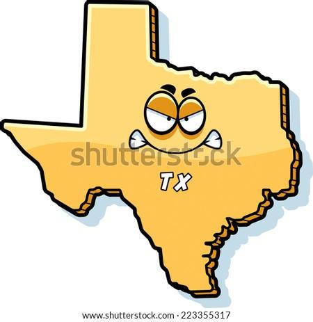 State of Texas Vector Logo Stock Vector