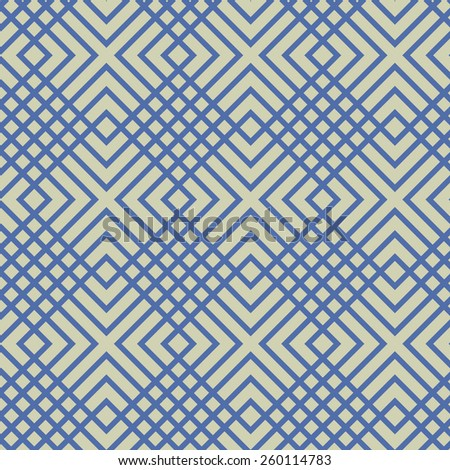 A checkered, modern vector pattern. - stock vector