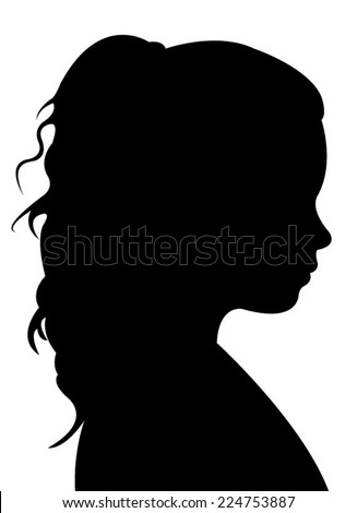 Female head silhouette stock photos images amp pictures shutterstock