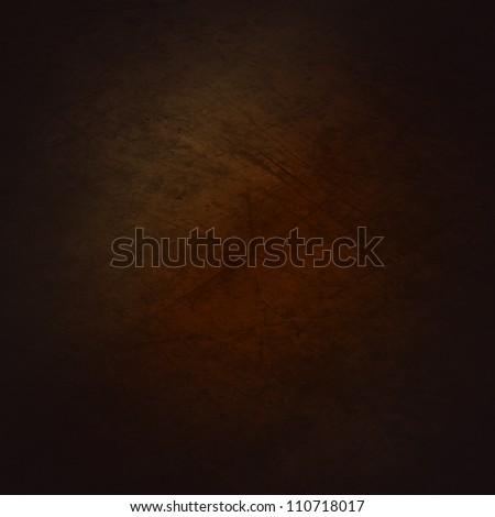 A grunge textured background with a gradient of brown. - stock vector