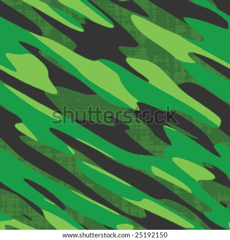 A military comouflage texture - this tiles seamlessly as a pattern. - stock vector