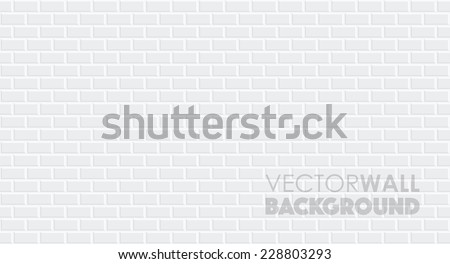a seamless brick wall - stock vector