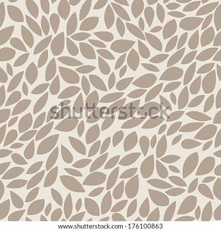 A seamless pattern with leaf - stock vector