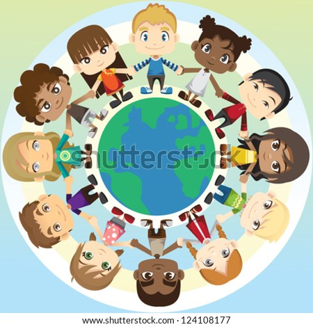 of multi ethnic group of  Race And Ethnicity Clip Art