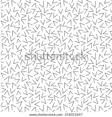 A vector pattern made with 'chevron' shape sign. - stock vector