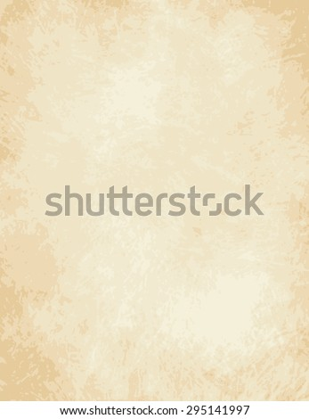 A very high detailed Full vector design for a light old paper - parchment - stock vector