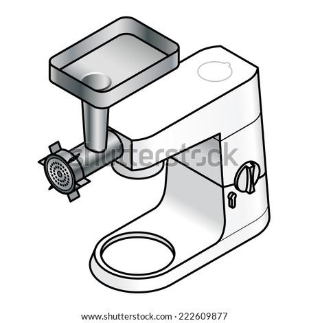 kitchen aid mixer stock vectors amp vector clip art