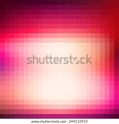 Abstract amaranth red background with bright spot. Vector - stock vector