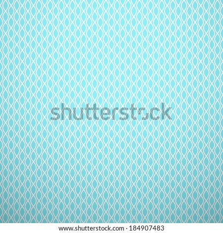 Abstract aqua elegant pattern. Blue and white, aqua style pattern with curve and line. Vector illustration. Delicate knitted fabric texture background. Book and wall cover. - stock vector