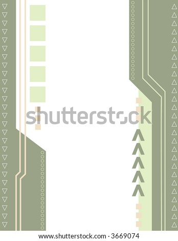 Abstract Arrow Background 4 - stock vector
