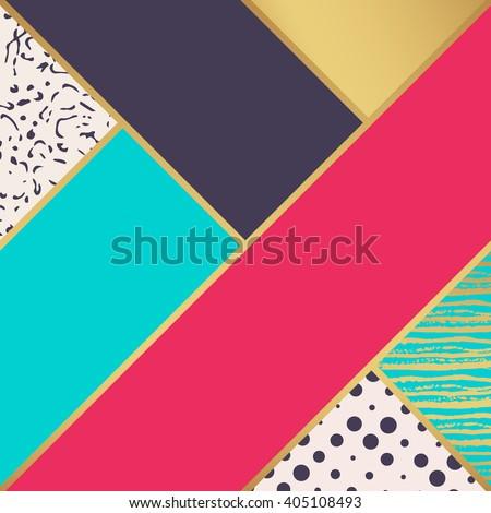 Abstract art pattern. Vector pattern. Pattern illustration. Fashion pattern. Pattern design. Cute pattern. Bright pattern. Pale pattern. Pattern background. Retro pattern. Pretty pattern Trend pattern - stock vector