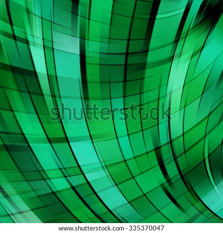 Abstract Backdrop Effect of green ray. Vector illustration. digital. infographics - stock vector